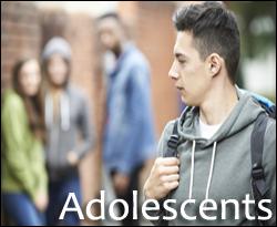 Adolescents button